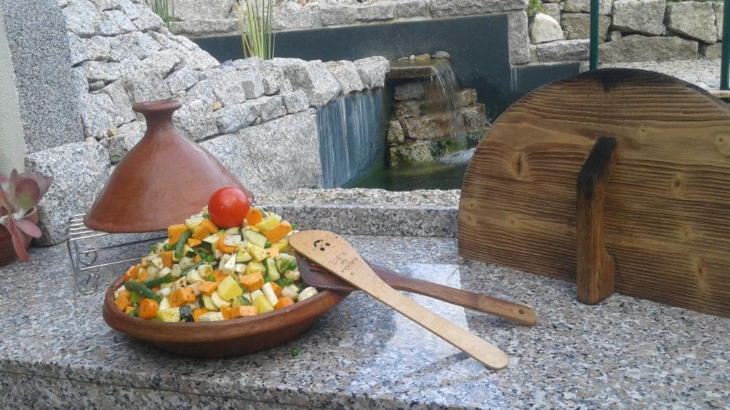 Tajin – pečená zelenina v marokánském hrnci