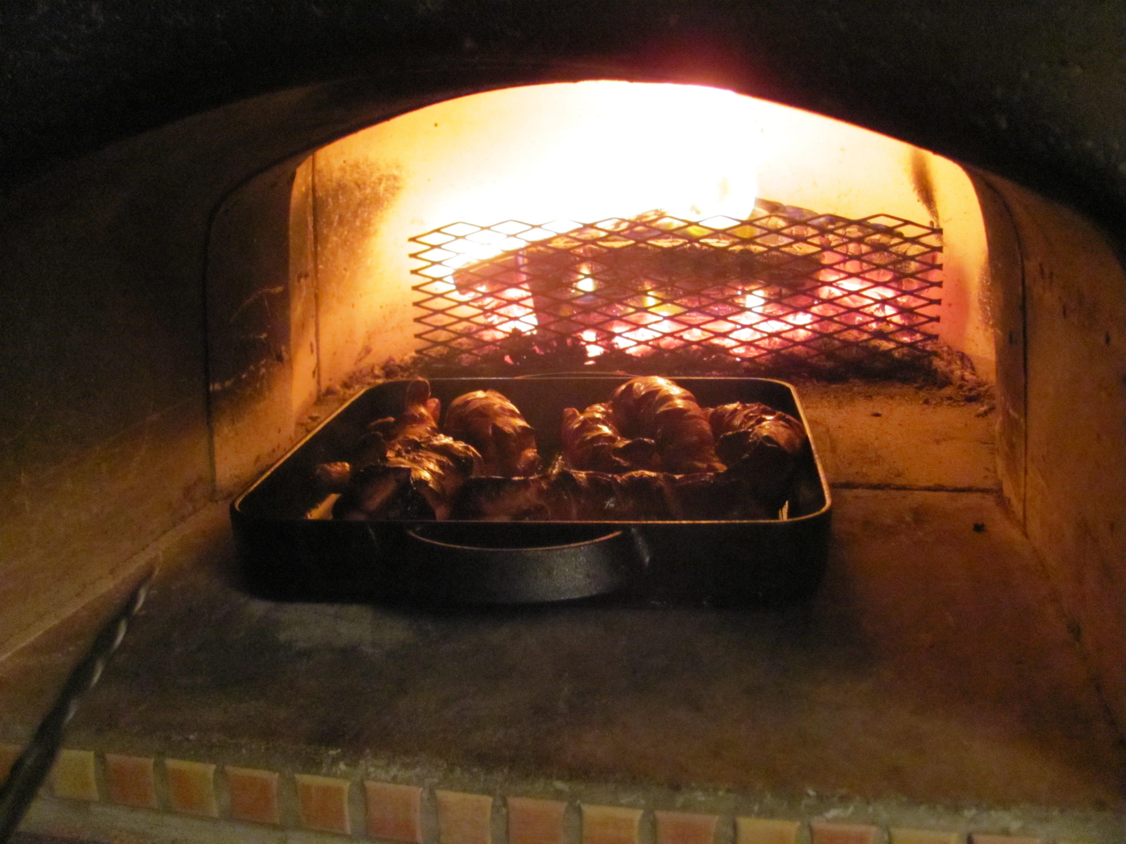 Špekáčky pečené v peci
