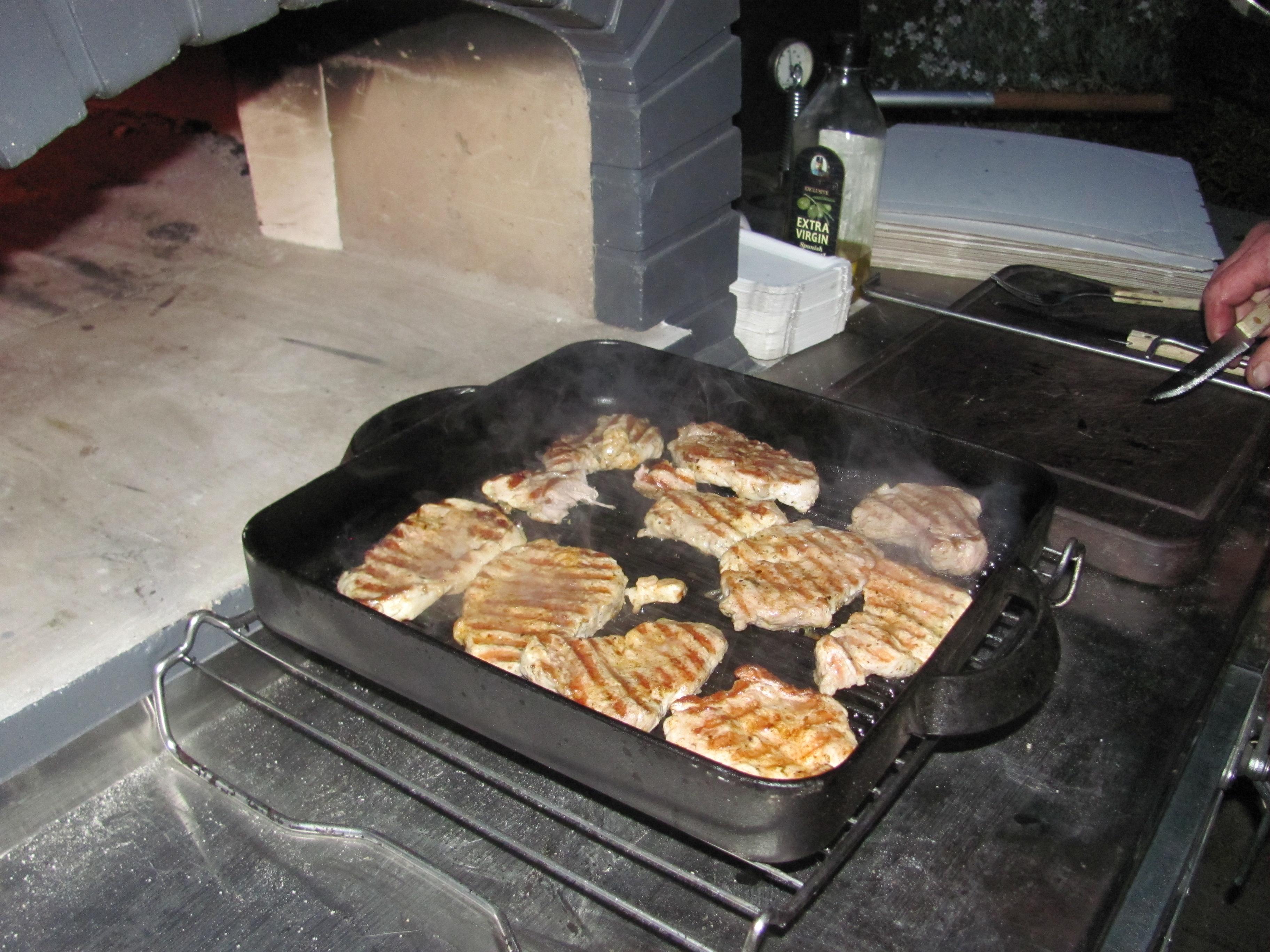Vepřové či hovězí steaky